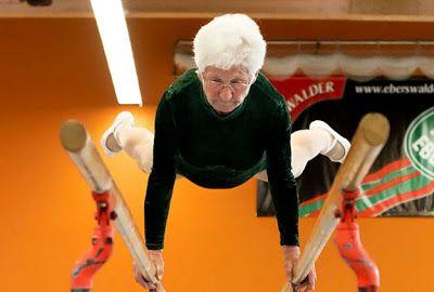 86 Year Old Gymnast Johanna Quaas