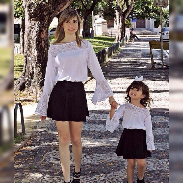 One day a boy will love being dressed just like his Mom for a walk!