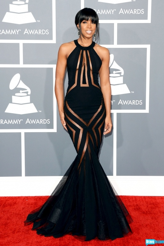 Click for a gallery of Decades' take on Grammy fashion!  Best: Kelly Rowland; Christos Garkinos says: Kelly Rowland -- my favorite Destiny's Child, in Chakra.