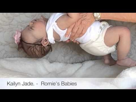 Kailyn Jade - Full bodied silicone baby by Romie Strydom - YouTube