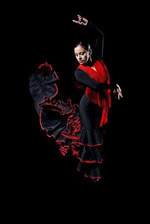 Spanish dancer. Love it.