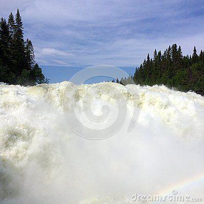 Tännforsen (waterfall) in Sweeden