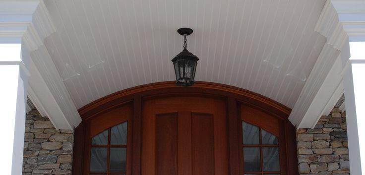Simple Vinyl Beadboard Ceiling Siding Colors For Houses Beadboard Azek
