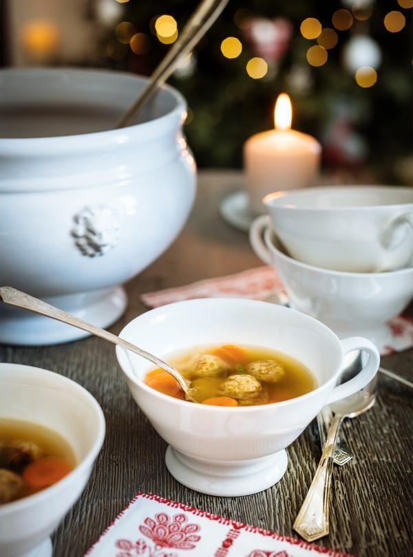 Soupe au ragoût de boulettes