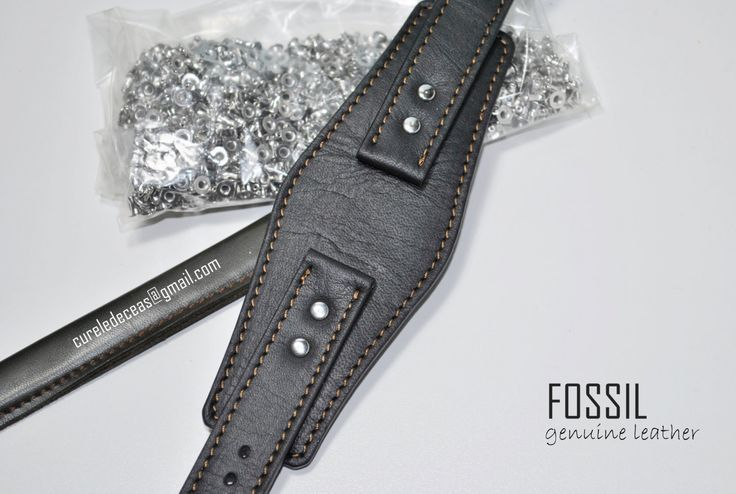 Custom Wide Brown/Black Leather Strap - 20mm 22mm Custom Size Color Stitching Made to order- Many Models by ChristianStraps on Etsy