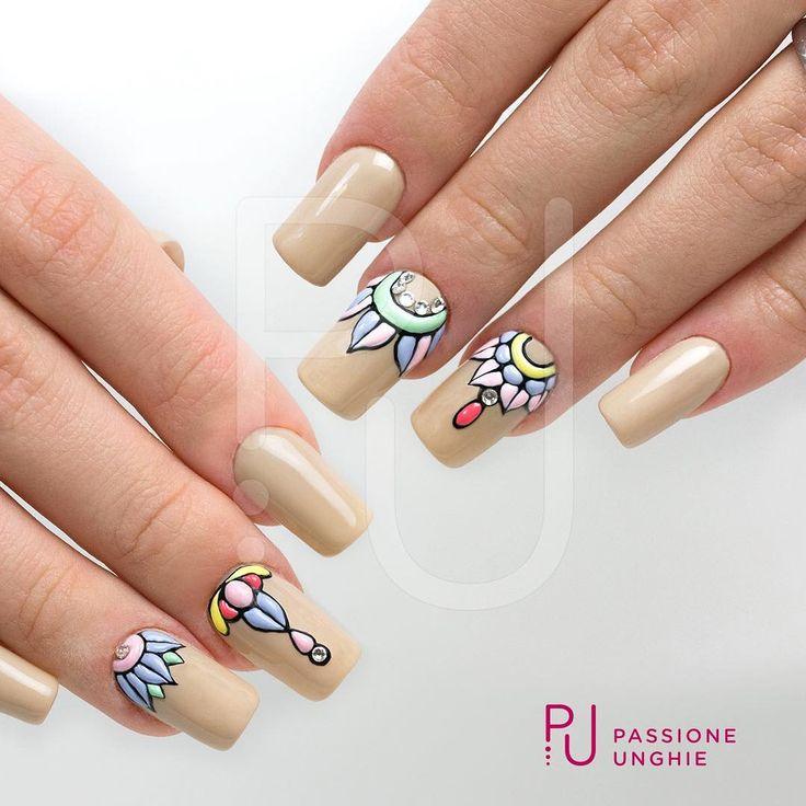 #SweetBloom con i #geluv colorati della collezione #FAST.  #CreamyBuilder #Cristalli #hazelnut #Swarovski #Crystal  #nailart #nails #passioneunghie #uñasdecoradas #uñas  https://www.facebook.com/PassioneUnghie.it/videos/1306008119481207/