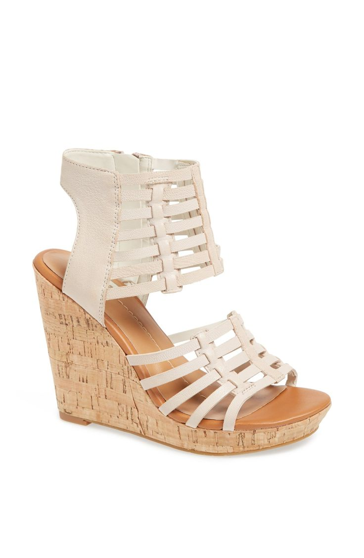 Pair these cork wedges with a summer dress jean jacket for a casual but chic look