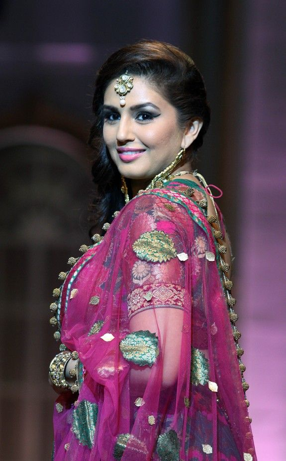 Bollywood actress Huma Qureshi for Ashima Leena