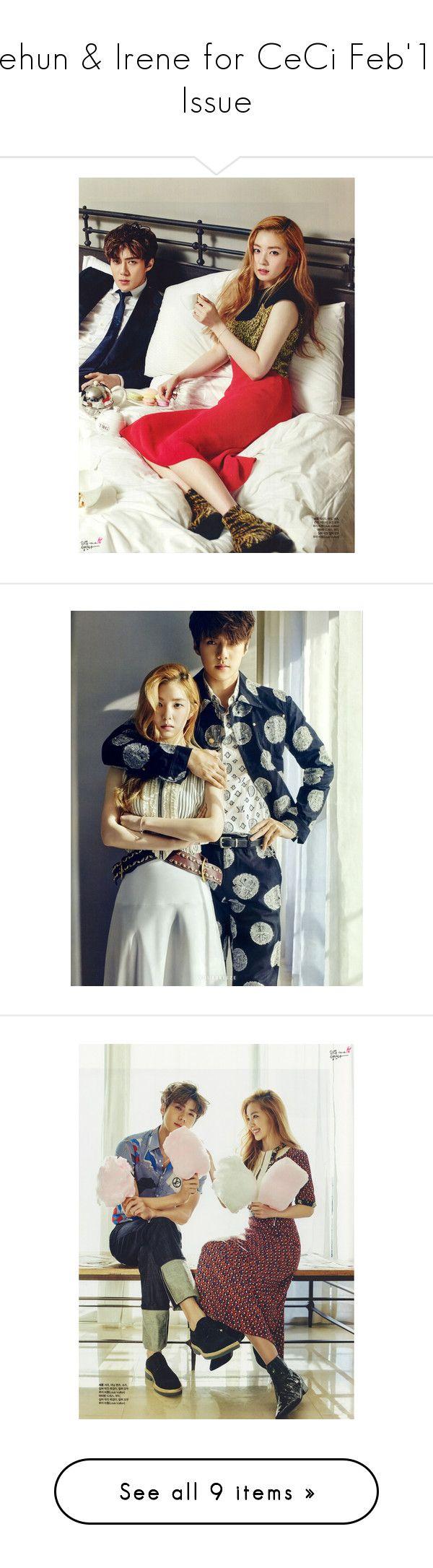 """Sehun & Irene for CeCi Feb'16 Issue"""