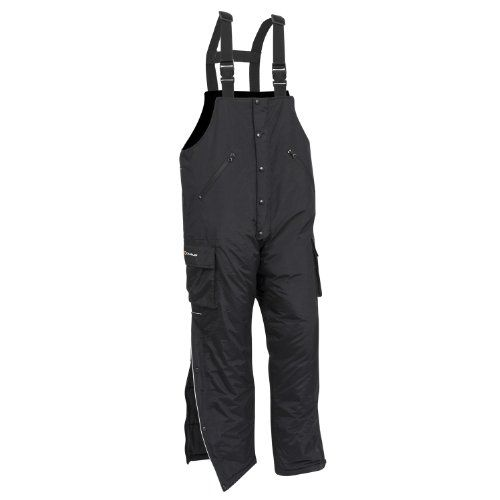 Celsius Men's Zone Insulated Cold Weather Bibs (Black, X-Large)