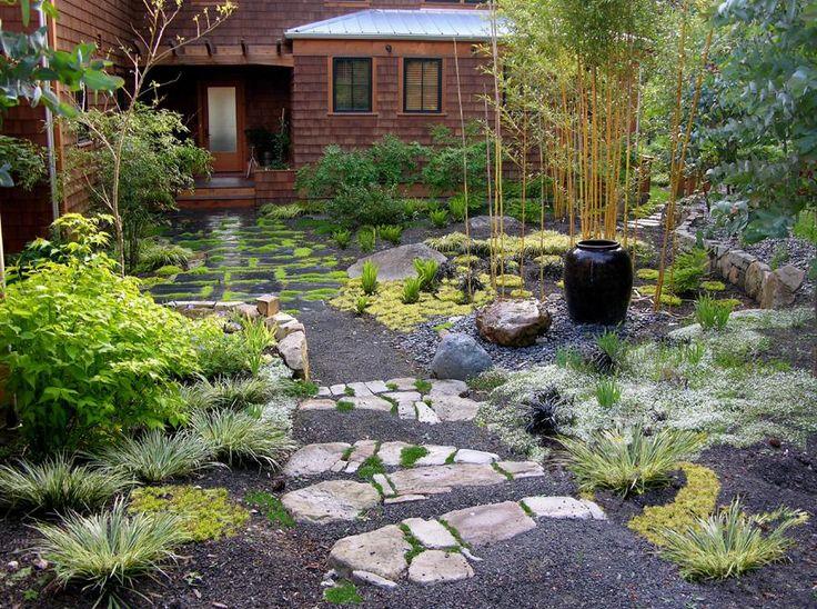 zen garden ideas zen garden stone steps path walls provided by macqueen