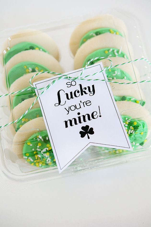 So Lucky You're Mine!  St. Patrick's Day Tags
