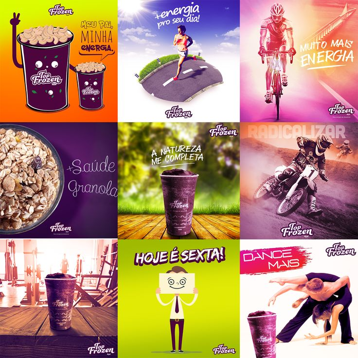 "Consulta este proyecto @Behance: ""Açaí Top Frozen - Social Media"" https://www.behance.net/gallery/43379345/Acai-Top-Frozen-Social-Media"