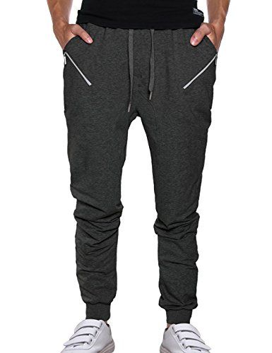 Men Medium Weight Drawstring Elasticity Wasit Sweatpants ... https://www.amazon.com/dp/B01M1IAV0Q/ref=cm_sw_r_pi_dp_x_F4YcybZ9ZGJ8Q