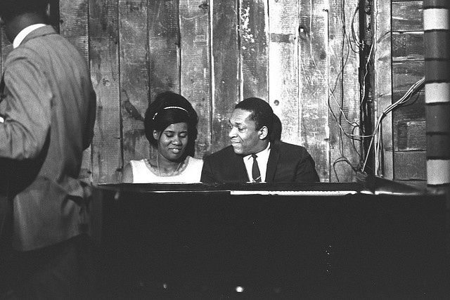 John and Alice Coltrane