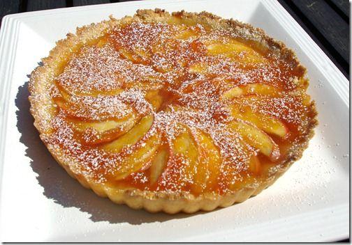 Apple & Apricot Tart