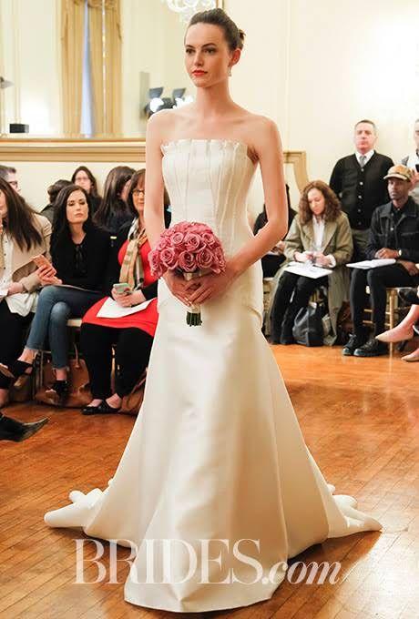 Peter Langner Wedding Dresses - Spring 2017 - Bridal Fashion Week : Brides.com