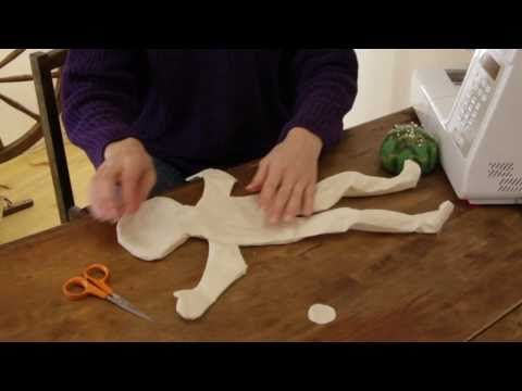 how to make a cloth doll head