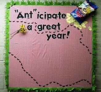 Picnic Themed Summer and Back To School Bulletin Board Idea