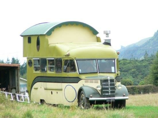 Bedford O Series based housetruck.