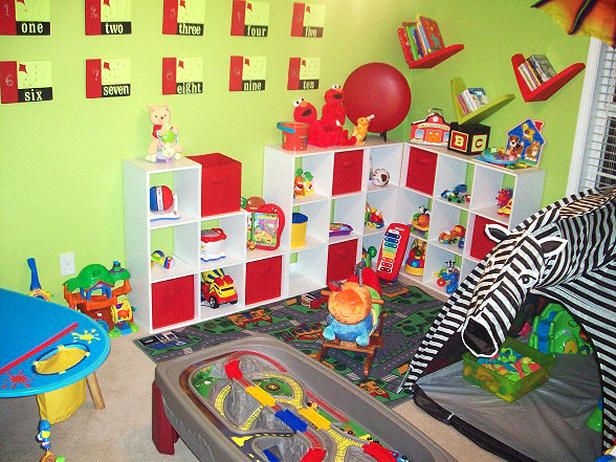 Interior, The Interesting Deisgn Of Boys Playroom Ideas With0the  Accessories On Green Wall And The Part 66