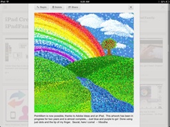 Love the nice sized images that Pinterest for iPad (App) displays.  Brilliant!