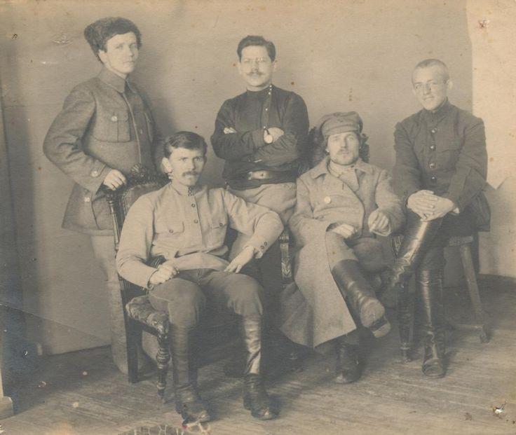 OMSK vCheka members - 1920.