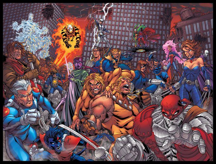 Age of Apocalypse: X-Men (my favorite Marvel storyline)