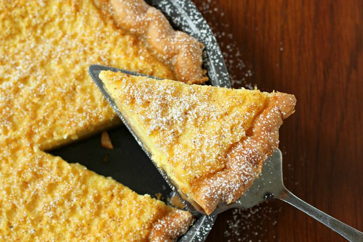 Traditional Southern Style Buttermilk Chess Pie