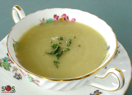 "Recipe - Cream of Potato Soup ""Parmentier"" 