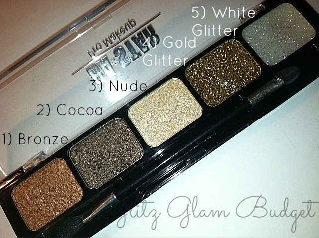 BA*STAR Pro Makeup Smokey Eyeshadow Palette