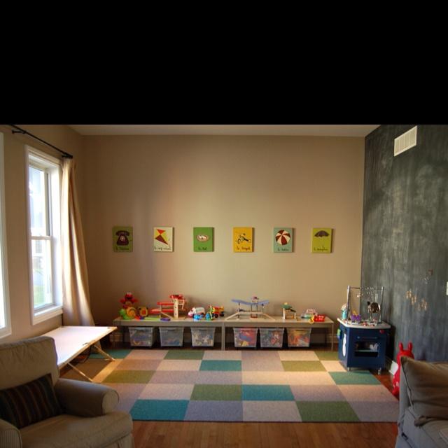 Dining Room Into Playroom