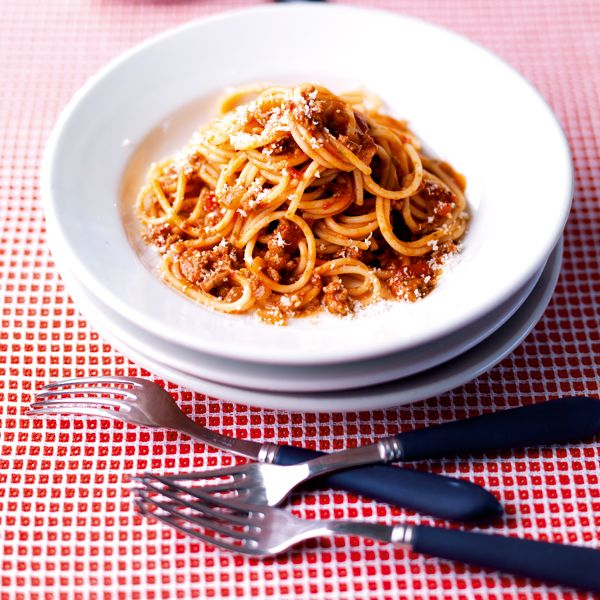 This simple bolognese recipe is proper comfort food and it's cheap.