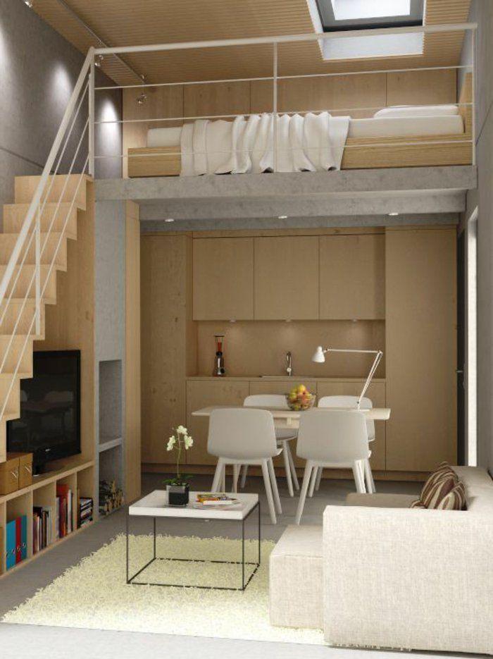 17 meilleures id es propos de maison de deux niveaux sur for Amenager une petite chambre adulte