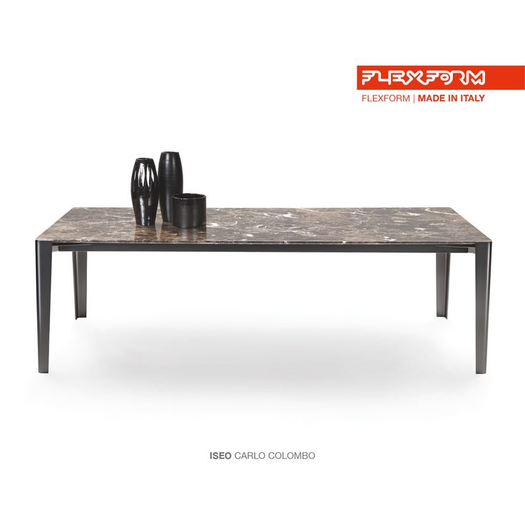 #FLEXFORM ISEO table #design Carlo Colombo