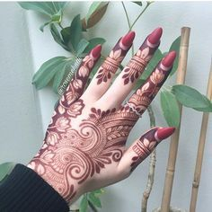 "2,229 Likes, 5 Comments - Ubercode: hennainspire (@hennainspire) on Instagram: ""Henna @henna_love181"""