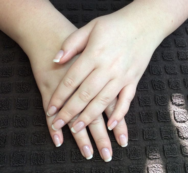 Jessica Geleration French mani with Wedding Gown and Blush  #geleration #jessicanails #weddinggown #blush #frenchmanicure #brighton #hove #beautalis