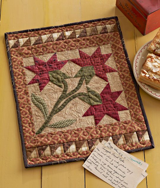 Designed by Annemarie Yohnk - Quilts Remembered in American Patchwork  magazine.
