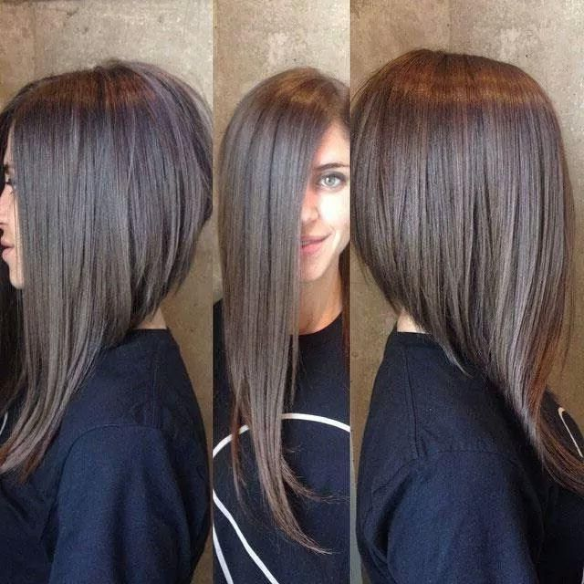 Image Result For Long Asymmetrical Haircut Angled Haircut Long Bob Hairstyles Long Angled Bob Hairstyles