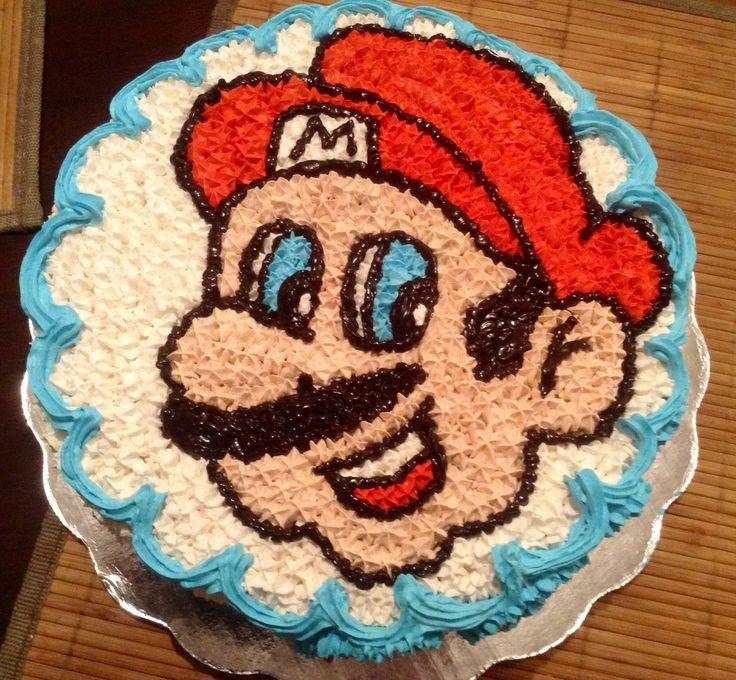 Mario Bros betun de crema batida por Breicka