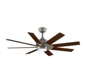 """View the Fanimation MAD7912-B7914-LK7912 52"""" 8 Blade Outdoor Commercial Ceiling Fan - Blades, Light Kit, Remote Control, and Downrod Included at LightingDirect.com."""