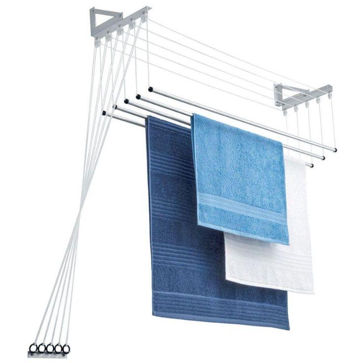 Varal de teto e/ou parede MAXEB - 5 varetas | Extra.com.br