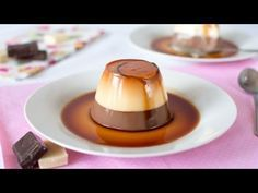 Flan de chocolate con 2 ingredientes - YouTube