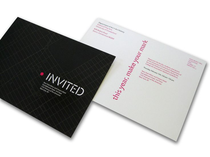 fine arts invitation design - Google Search