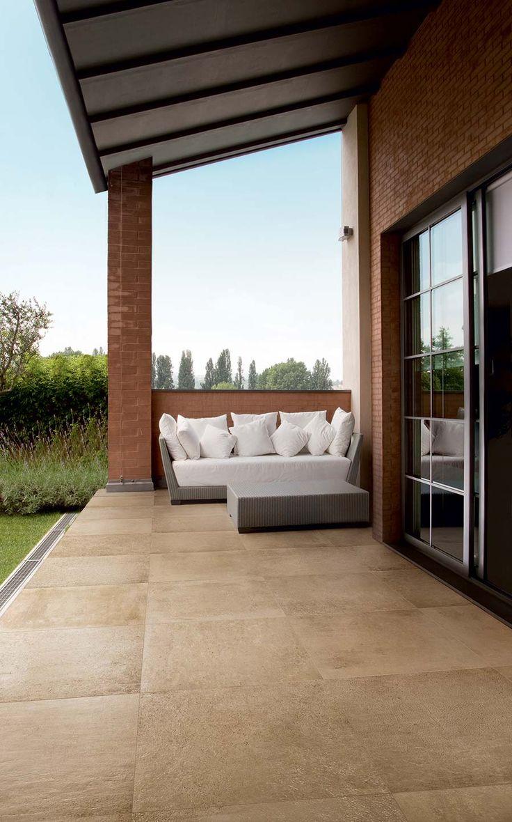 Casa Rich Brown Brick Slip Effect Porcelain Wall Tiles Per Sqm