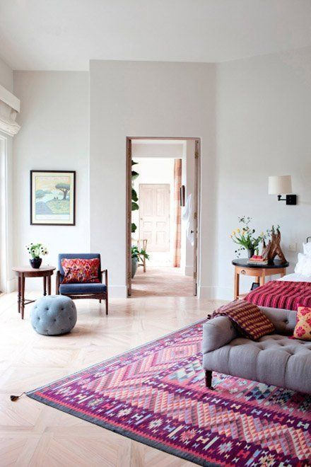 What's Next: Upcoming Trends in Color Combinations for Interiors - love this room, and all the others in the post!
