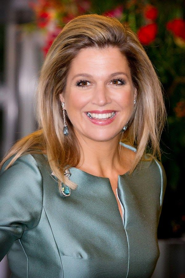 Queen Maxima at a hotel in Tokyo.31 October 2014.