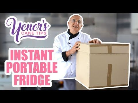 How to Make an INSTANT PORTABLE FRIDGE for Cake Deliveries - CakesDecor