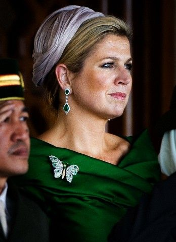 Dutch royals on state visit to Brunei