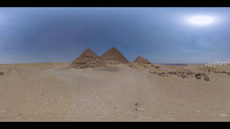 Egyptian pyramids, 360° video / Египетские пирамиды, 360° видео